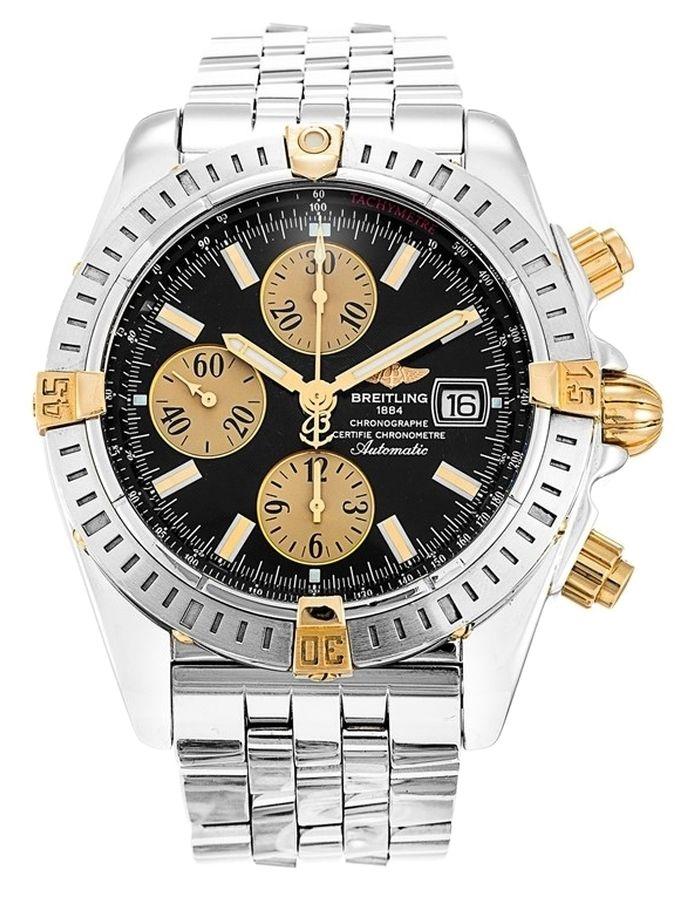 Breitling Chronomat Evolution B13356 Men S Watch 49 Off Retail Breitling Watches For Men Breitling Chronomat Evolution