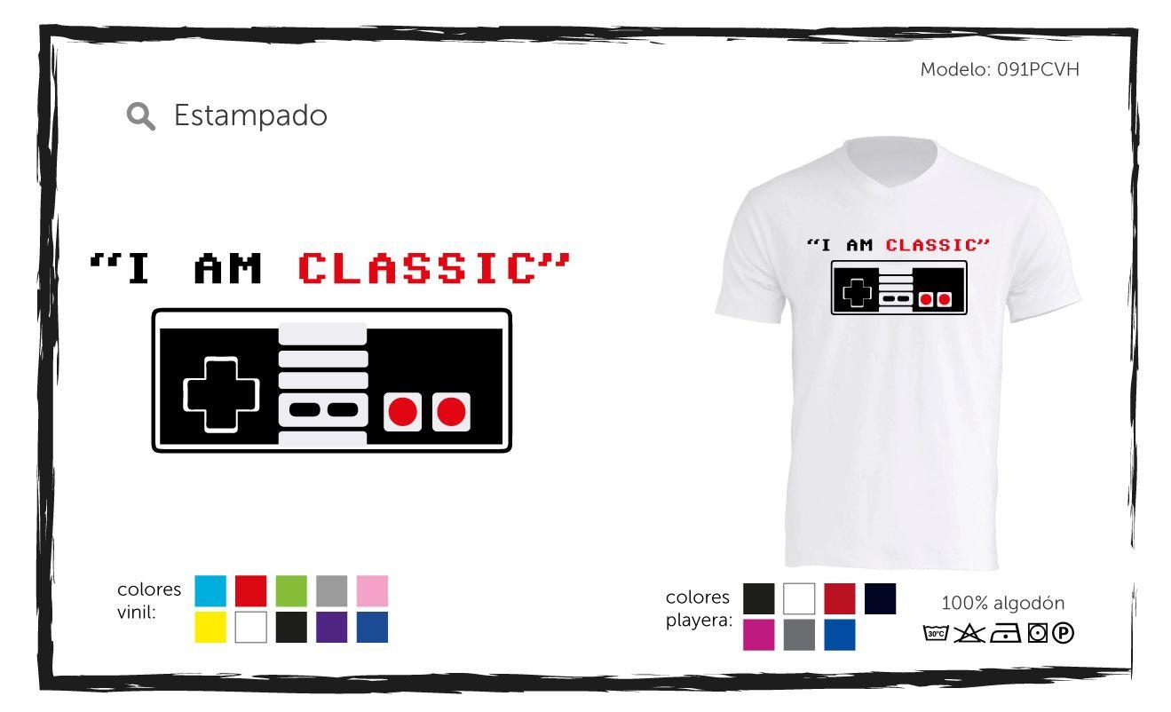 Playera classic #playeras