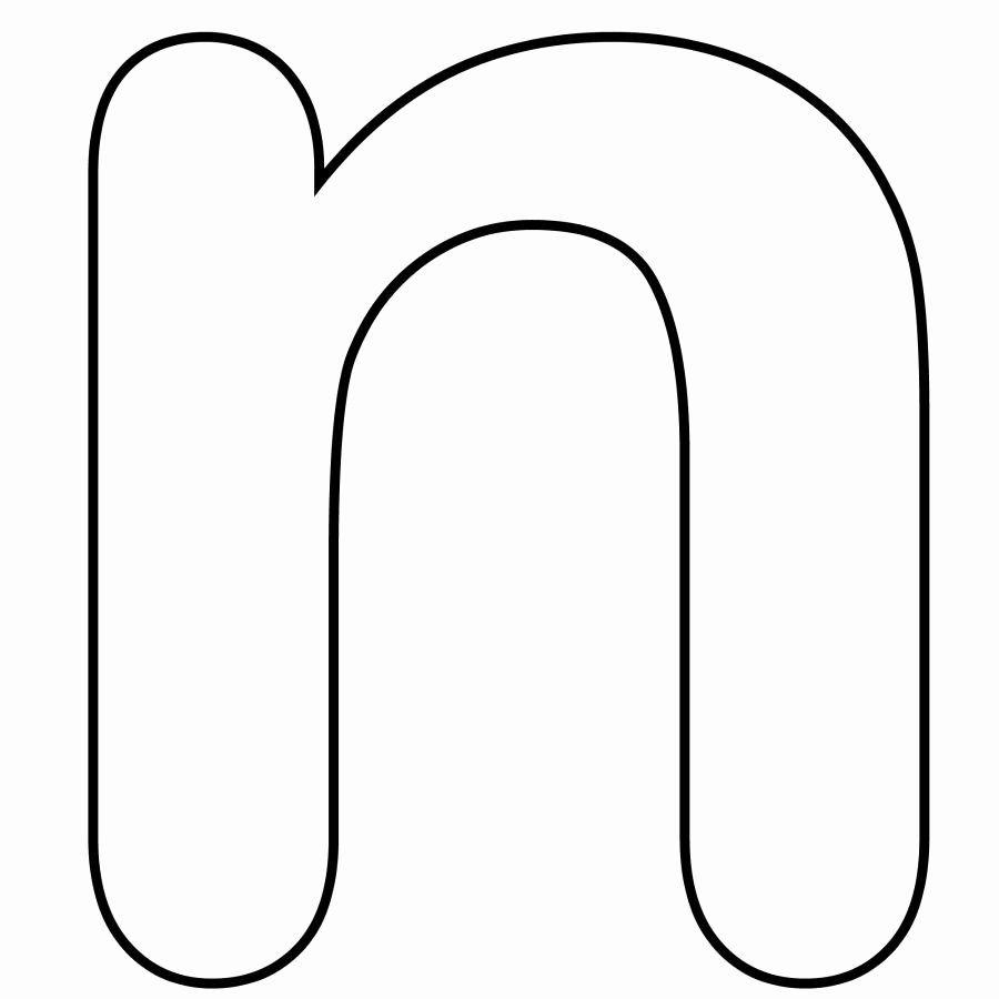 Alphabet Coloring Pages N Inspirational نتيجة بحث الصور عن Letter N Eyeliner Alfabet Letters Schrijven Alfabet