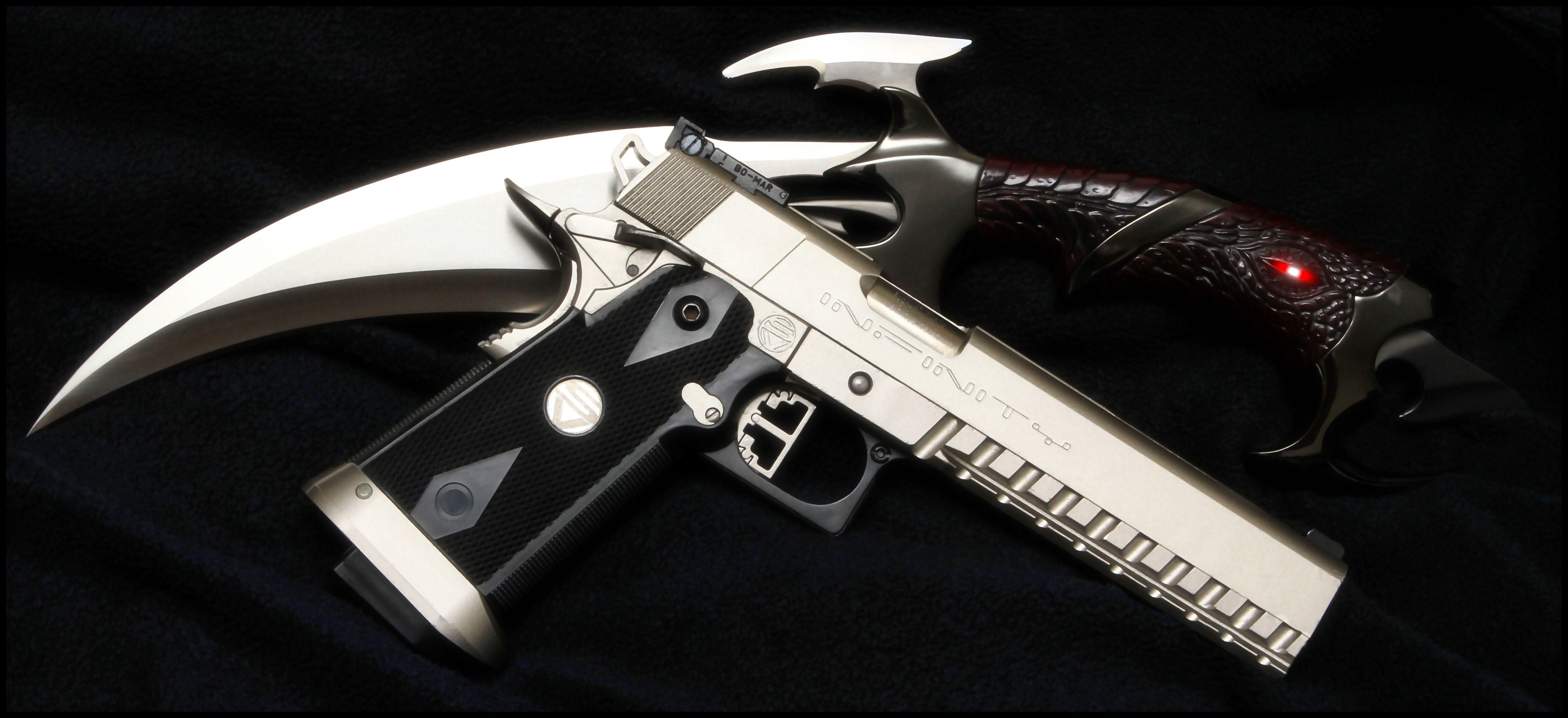 Tools Of The Demon Hunter Gun Pinterest Demon
