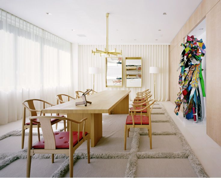 China Chairs from SUITE New York  MR Architecture + Decor--David Mann