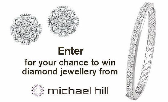 Enter Daily For More Chances Of Winning A Michael Hill Diamond Earrings And Bangle Arv 10 000 Here