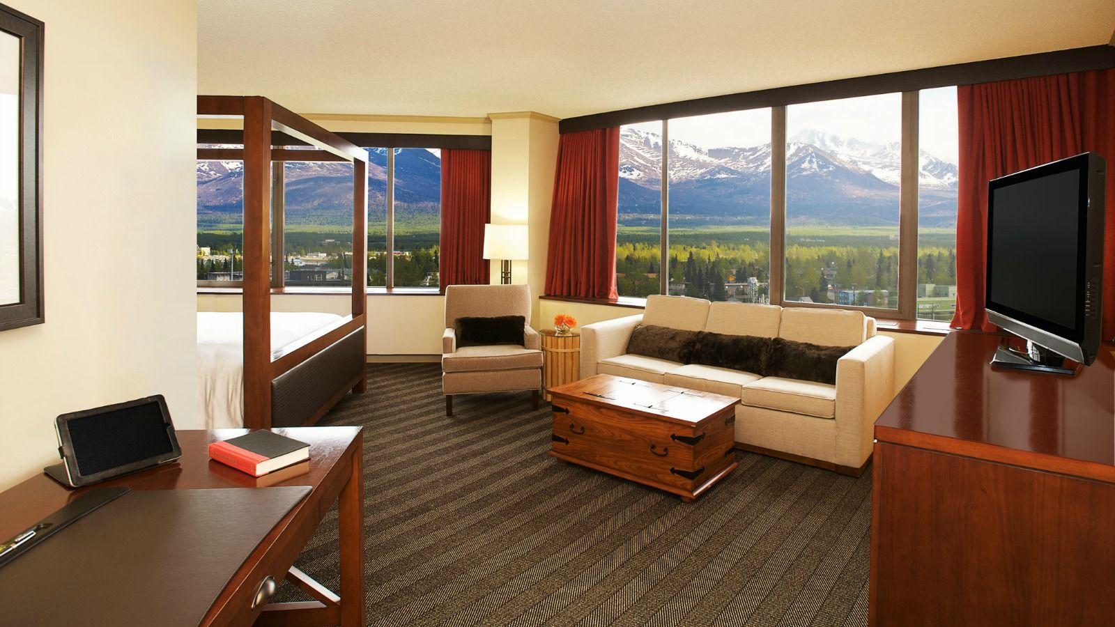 Sheraton Anchorage Hotel Spa Junior Suite Anchorage Hotels Hotel Spa Hotel