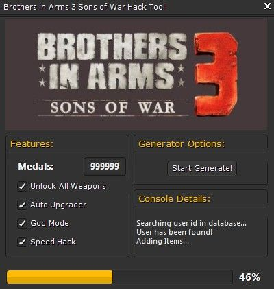 Brothers in arms 3 hack tool cheats engine no survey download brothers in arms 3 hack tool cheats engine no survey download malvernweather Gallery
