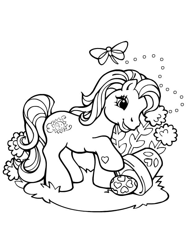 My Little Pony Mon Petit Poney Http Www Kidzeo Com Coloriage My Little Pony Coloring Horse Coloring Pages Horse Coloring Books