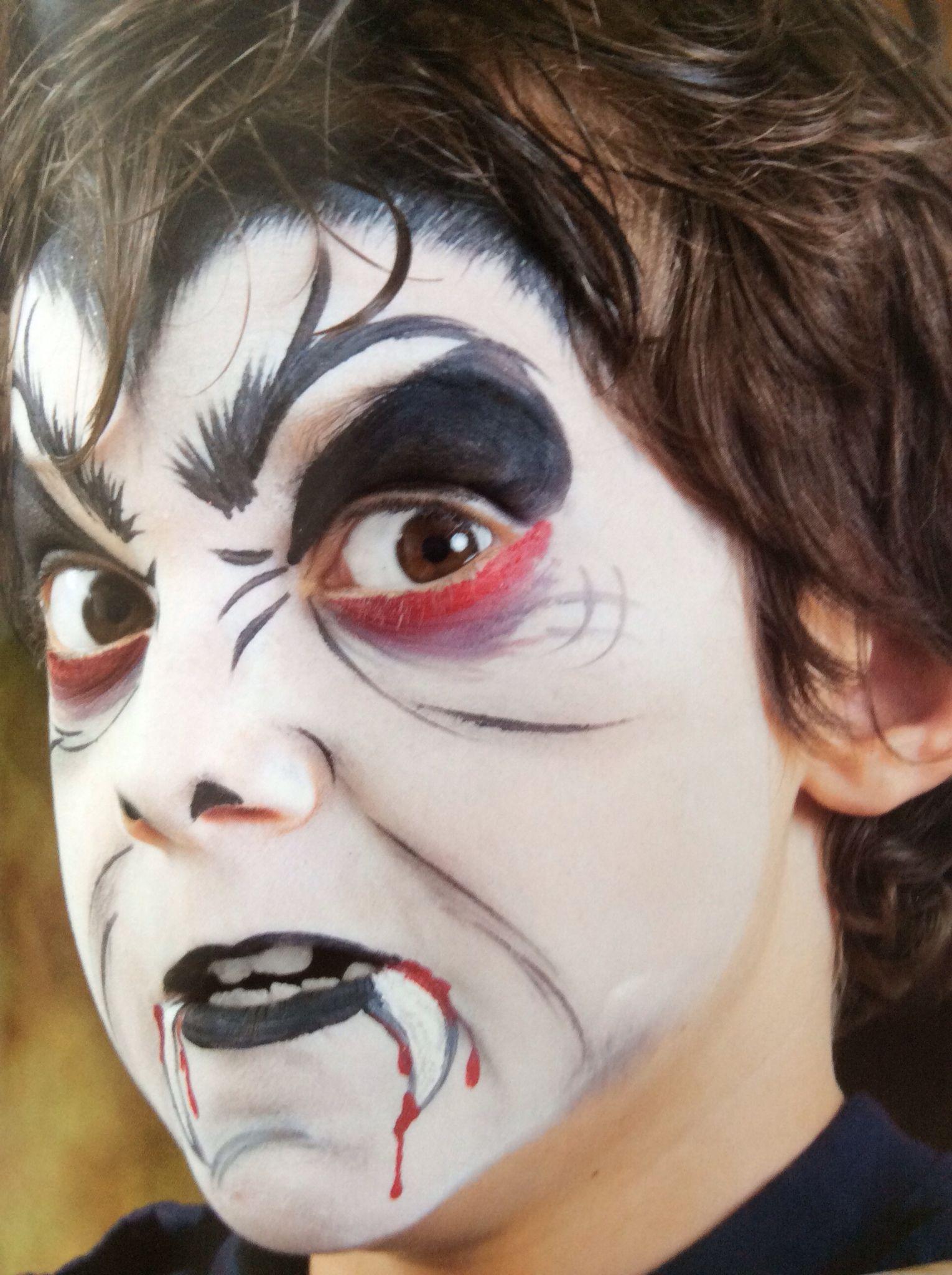 Uncategorized Dracula Face Painting dracula schmink facepainting pinterest face paintface