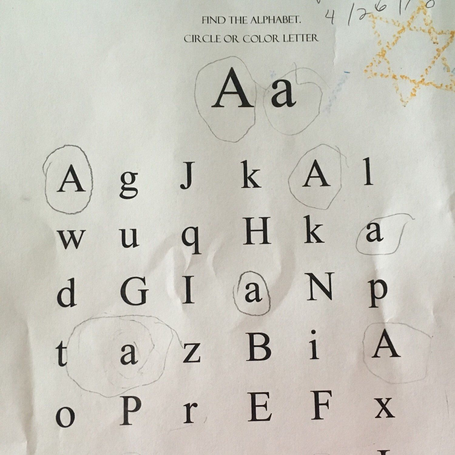 Learn Abc S Printable Worksheets
