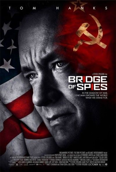 BRIDGE OF SPIES -2015- original 27x40 D/S REGULAR  Movie Poster - TOM HANKS