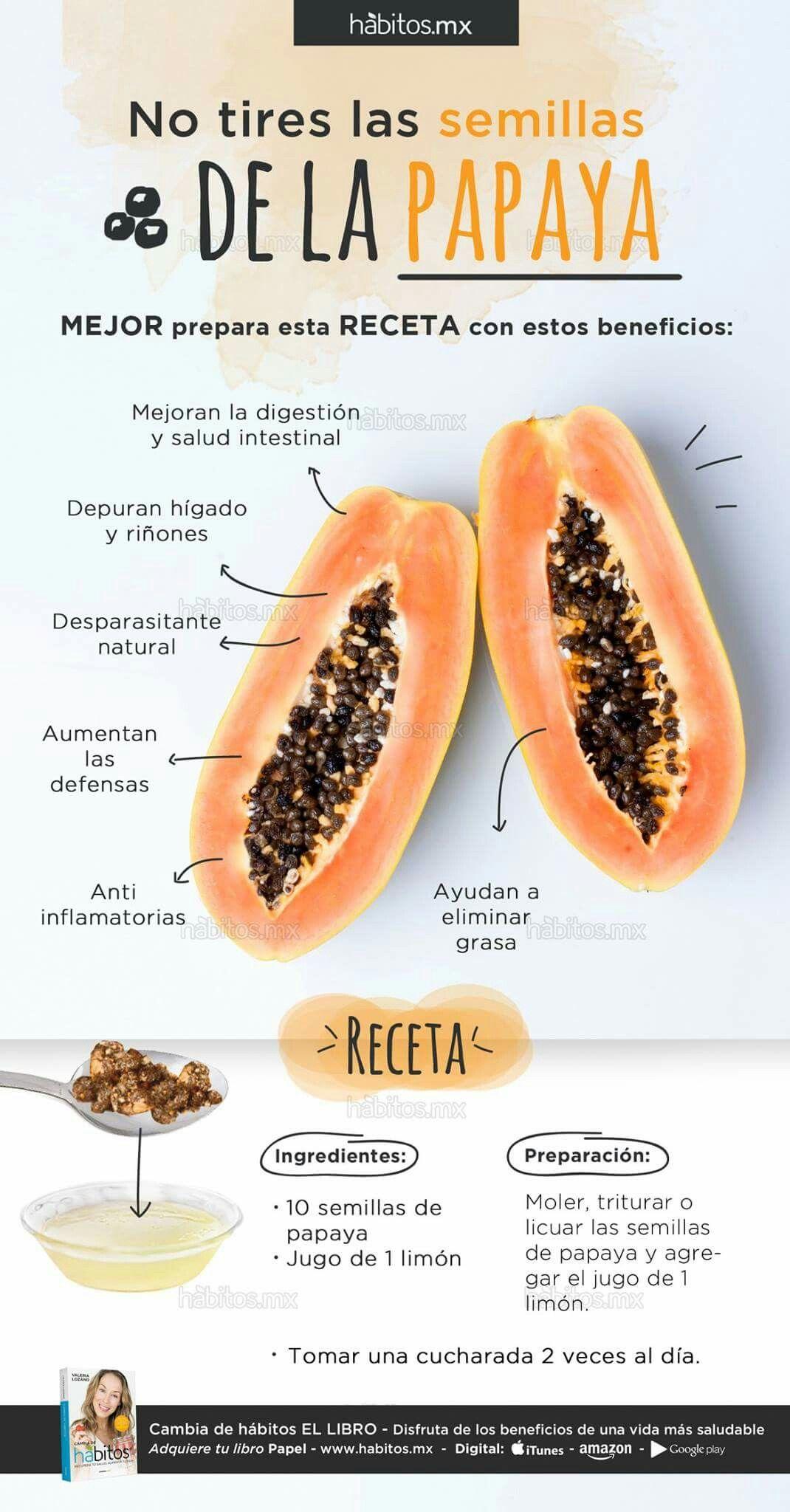 Semilla para de adelgazar beneficios la de papaya