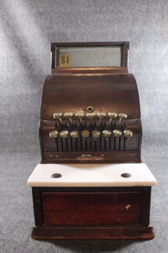 Vintage 1926 National Cash Register 300 700 Single Counter Candy