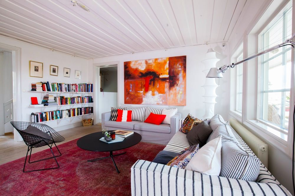 Video house tour an eclectic mix in sweden apartment therapy