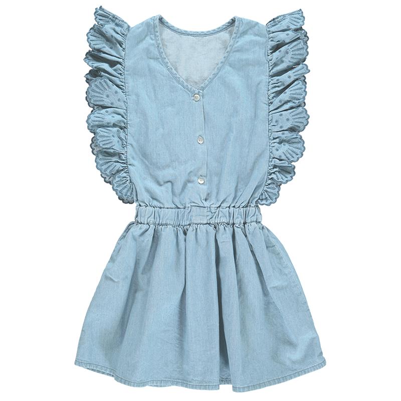 JASMINA chambray dress