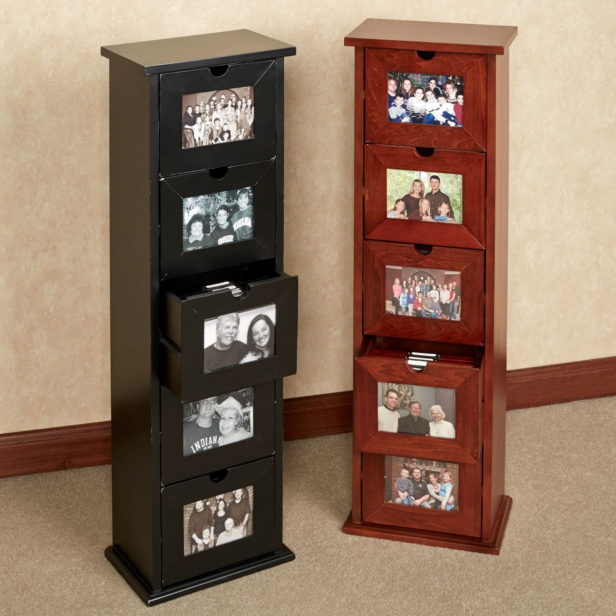 Photo Album Storage Cabinet