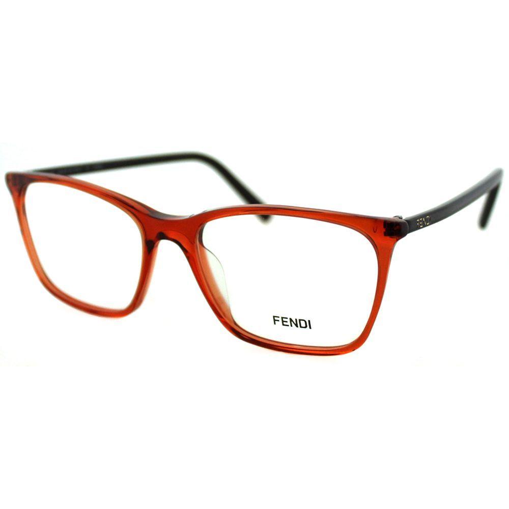 6cf8bb92af7 Fendi Women s FE 946 810 Transparent Rectangle Eyeglasses