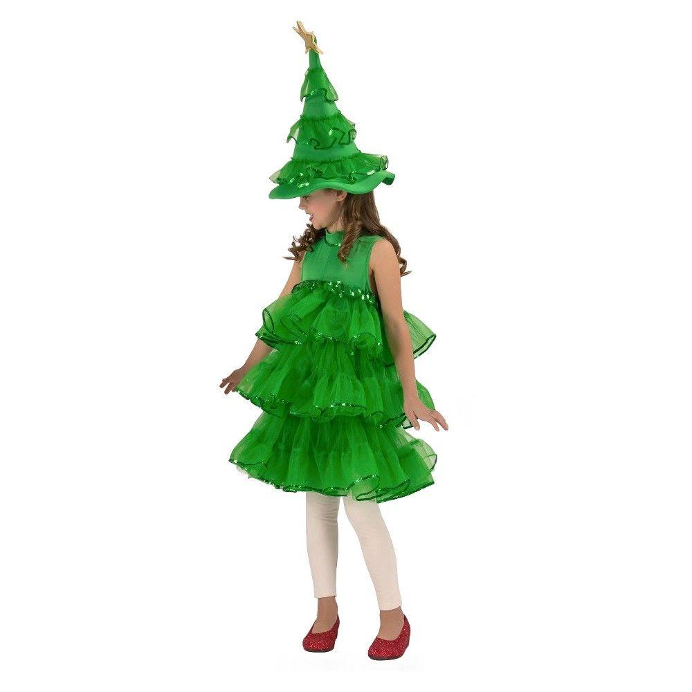 Kids Glitter Christmas Tree Halloween Costume S In 2020 Christmas Tree Costume Christmas Tree Halloween Costume Tree Costume