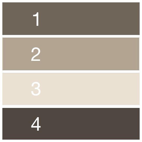 Taupe Paint Color the perfect paint schemes for house exterior | paint color combos