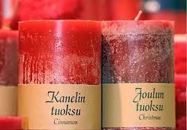 tuoksukynttilä - Joulu ja mausteiset tuoksut (EI missään tapauksessa ocean, laventeli tms vessanraikastintuoksut)