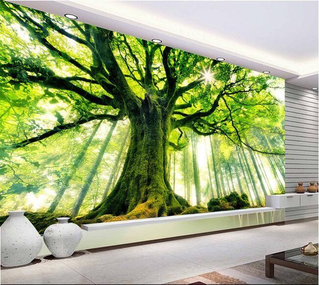 Barato 3d papel de parede personalizado mural papel de - Papel de pared barato ...