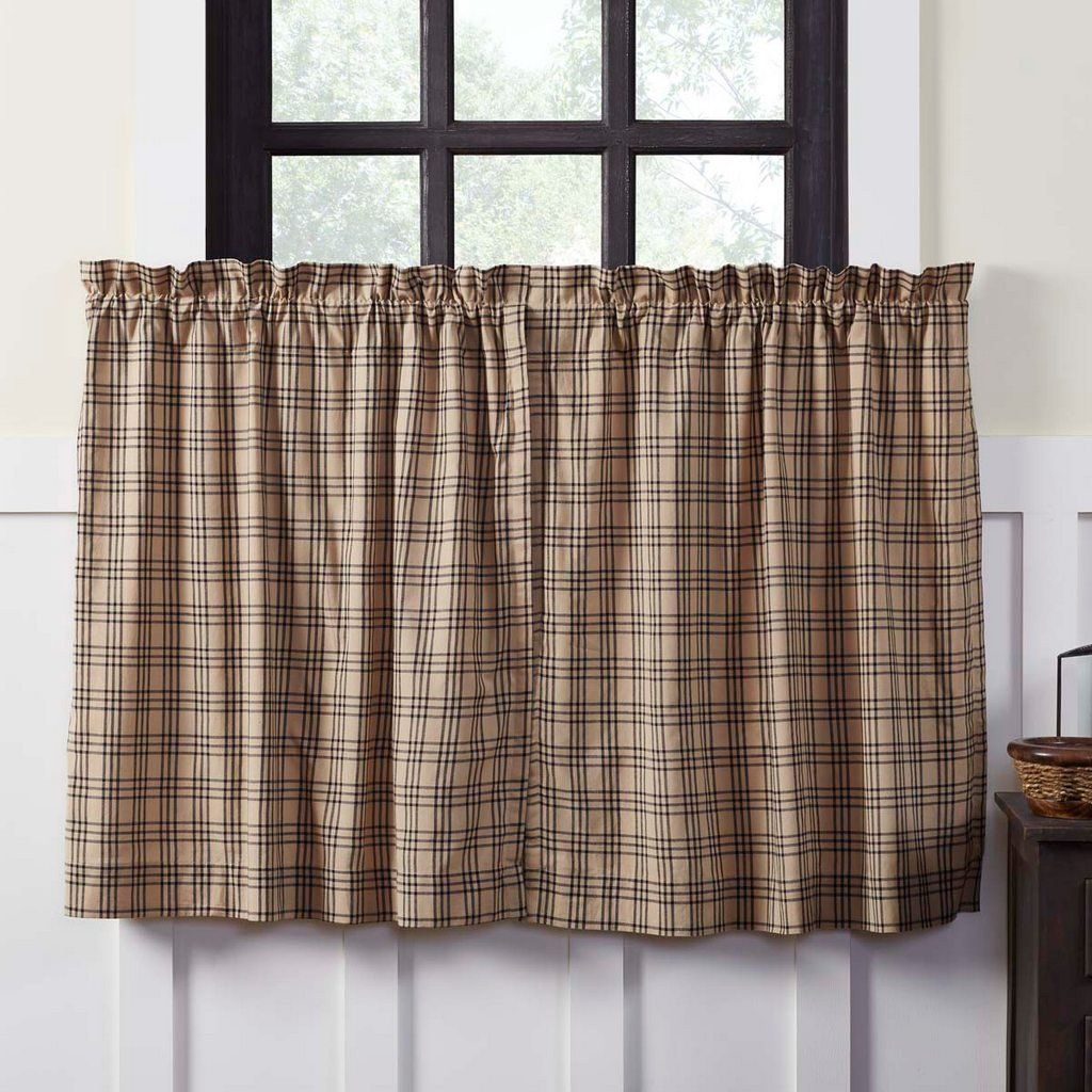 Sawyer Mill Lined Tier Curtains 36\