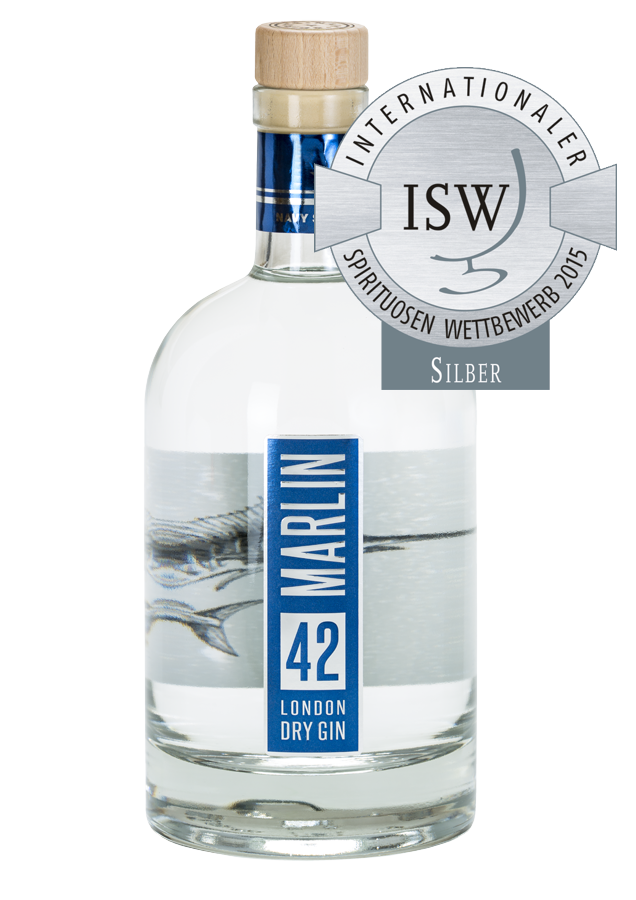 marlin 42 london dry gin from hamburg try gin. Black Bedroom Furniture Sets. Home Design Ideas