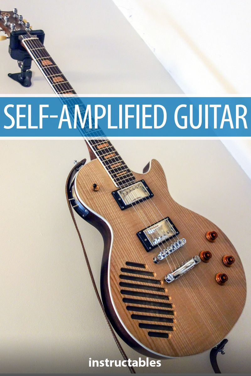 Self-amplified Guitar