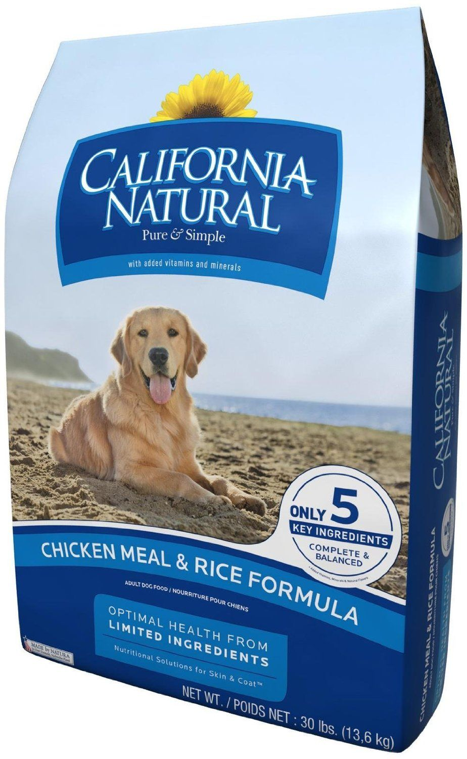 Amazon Com California Natural Chicken Meal Rice Adult Dog Food