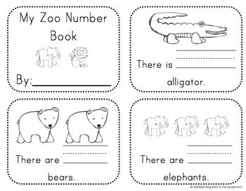 kindergarten zoo math activities and centers common core aligned elementary math ideas. Black Bedroom Furniture Sets. Home Design Ideas