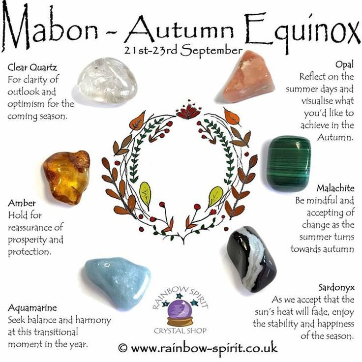 Mabon is next week! Are you ready? What do you do to celebrate the Autumn Equinox? #Mabon #AutumnEquinox #TheOriginalThanksgiving #Stones… #maboncelebration