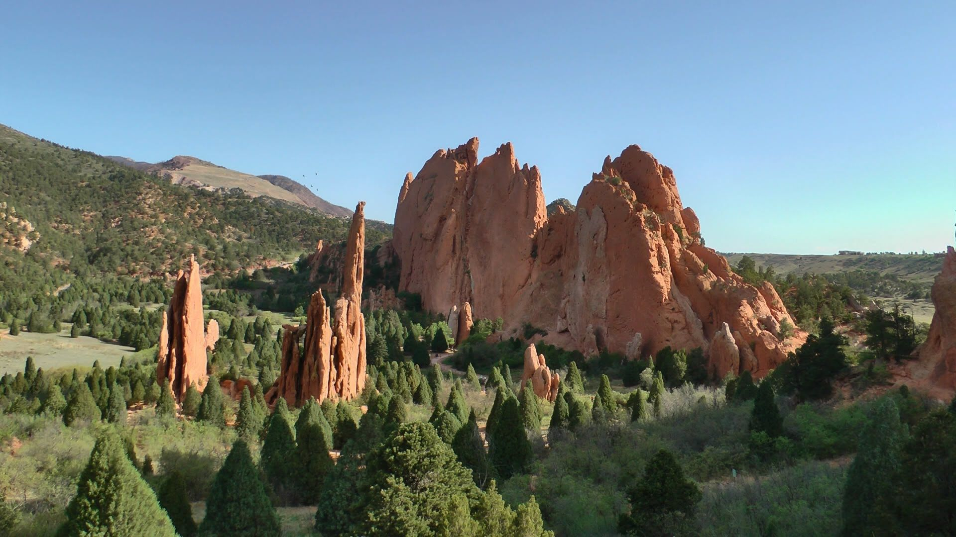Garden Of The Gods Colorado Usa In Hd Beautiful Places On Earth Beautiful Places To Travel Rocky Mountain National Park