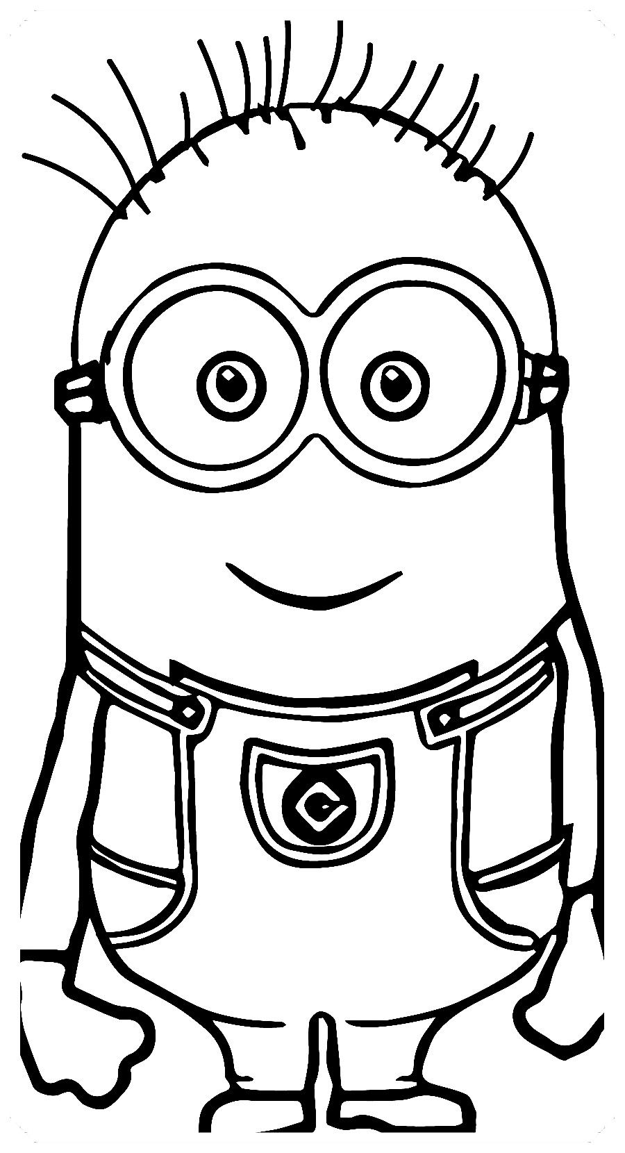 Los Mas Lindos Dibujos De Minions Para Colorear Y Pintar A Todo Color Imagenes Prontas Para Descargar E Minions Dibujos Dibujos Para Colorear Minions Dibujos