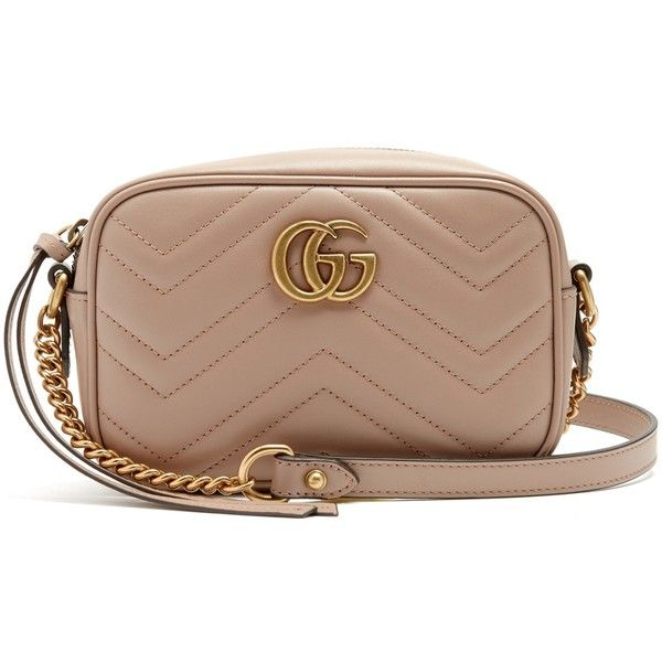 4d36ee525 Gucci GG Marmont mini quilted-leather cross-body bag (17,490 MXN ...