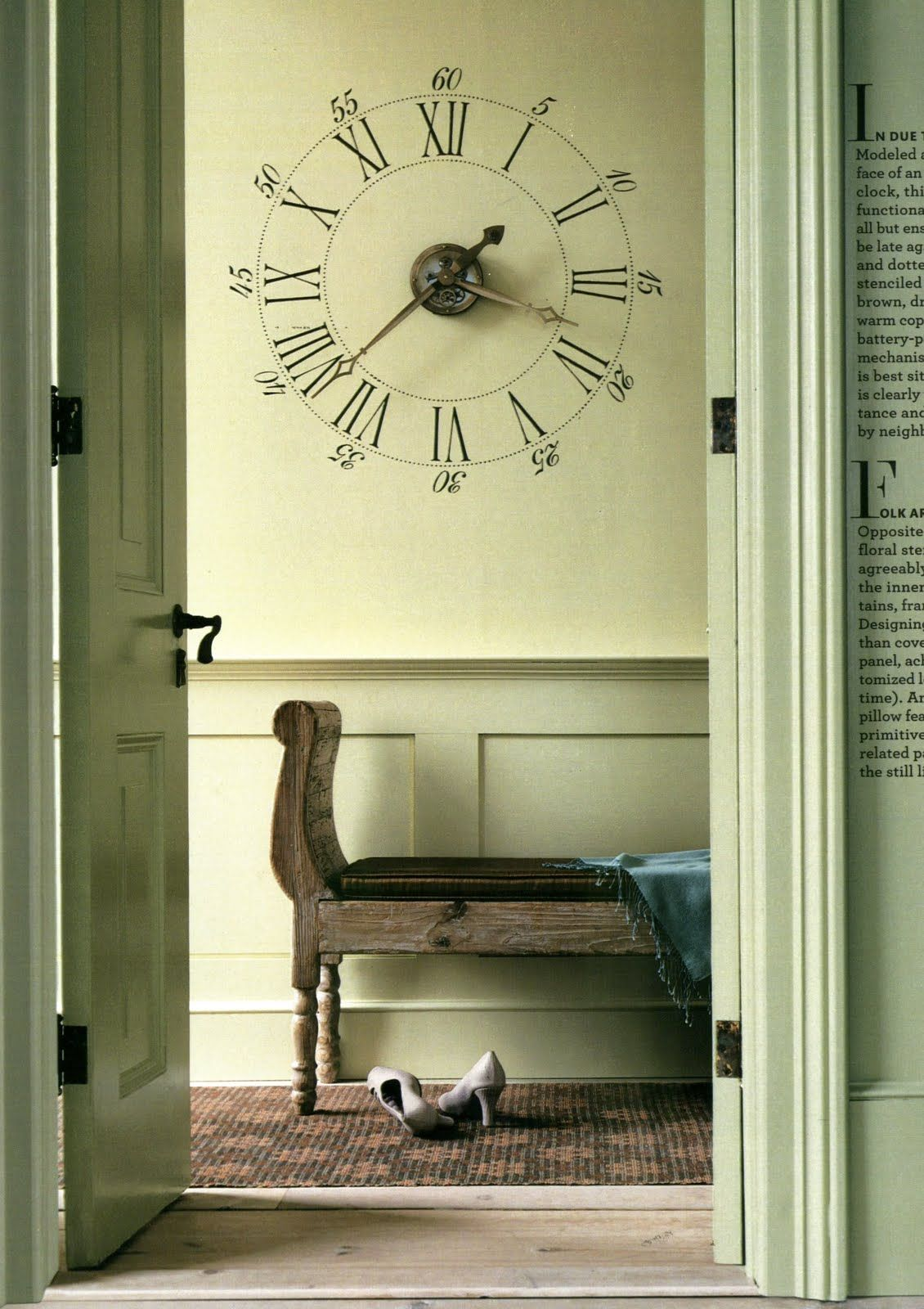 So I really like this clock, even though I can\'t read roman numerals ...