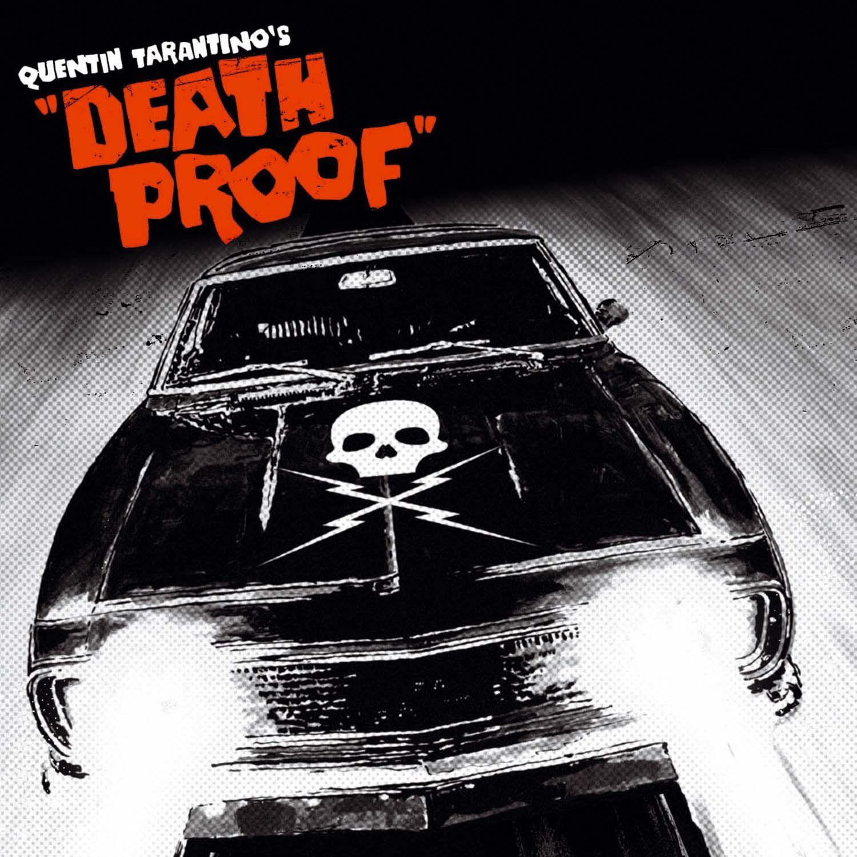 Death proof soundtrack music cd album in stock at cd universe photographer andrew cooper cult hero film directors quentin tarantino and robert rodriguez