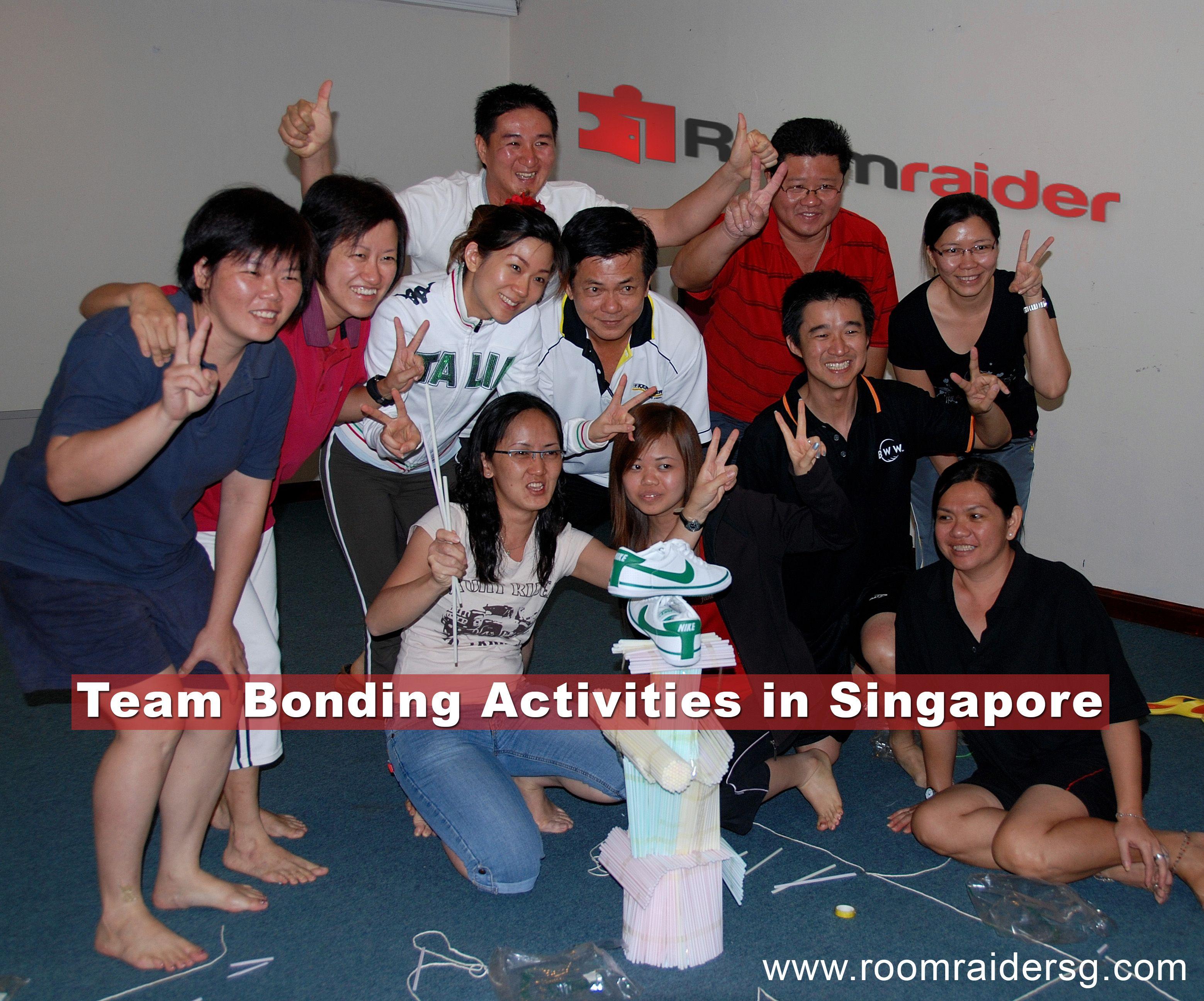 Team Bonding Activities in Singapore Corporate team