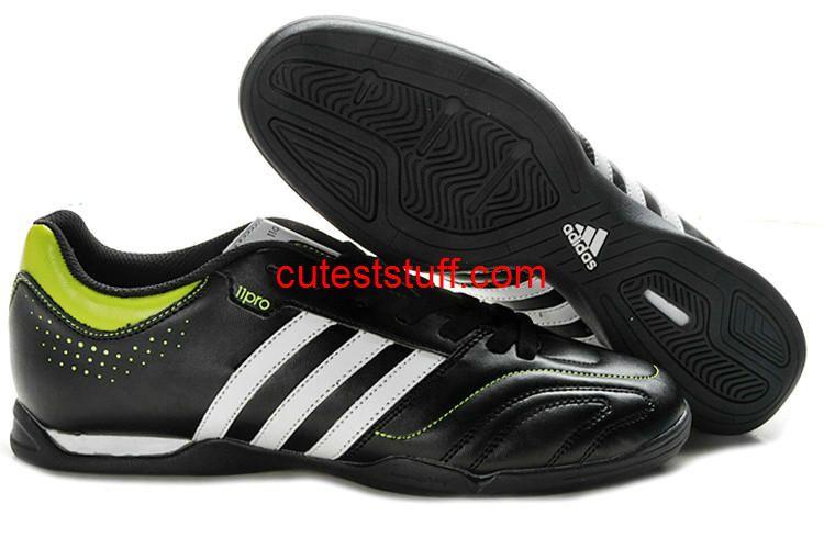 Adidas Adipure 11Pro M Indoor Verde Scarpe Bianco Nero Verde Indoor 1f7fbb