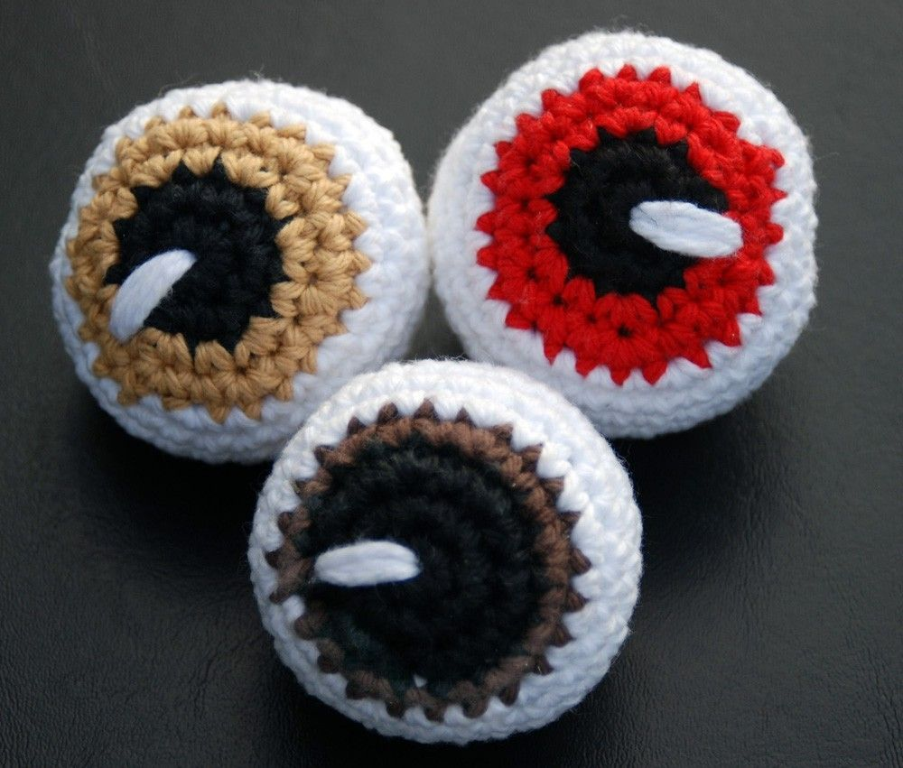 Crocheting Eyes : crochet eyes Crochet & Amigurumi Pinterest