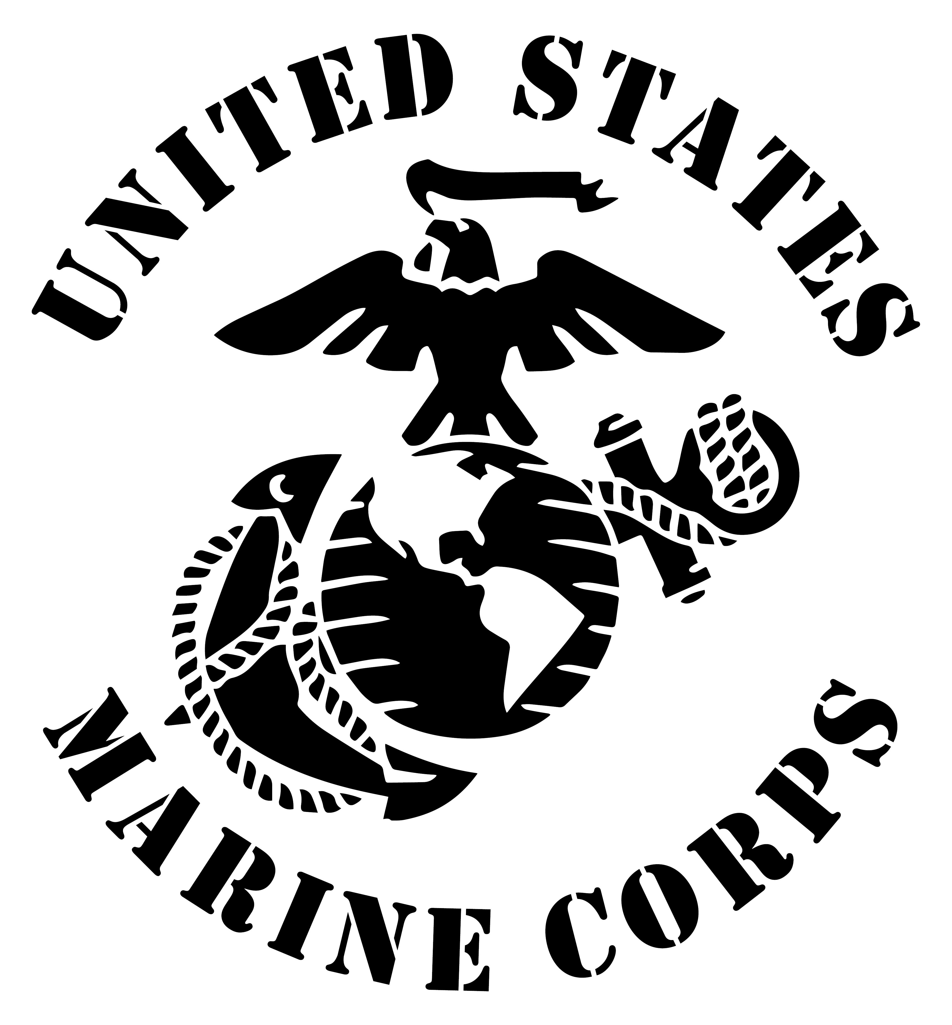 United States Marine Corps Eagle Globe Anchor USMC EGA Matte Indoor/Outdoor  Vinyl Decal,