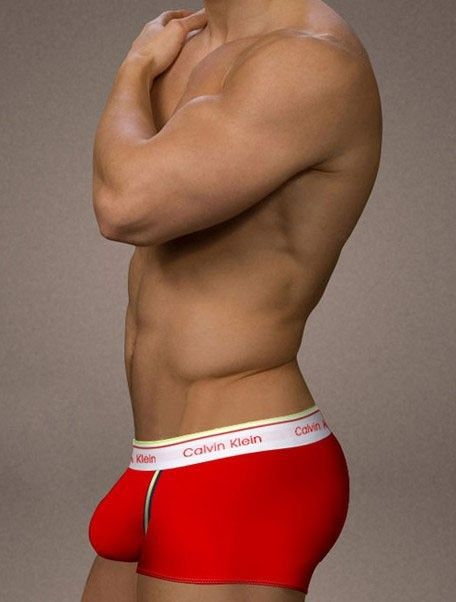 New Arrival Calvin Klein Men's Micro Modal Air Sculpt Boxers U011 in Red  Sale http: