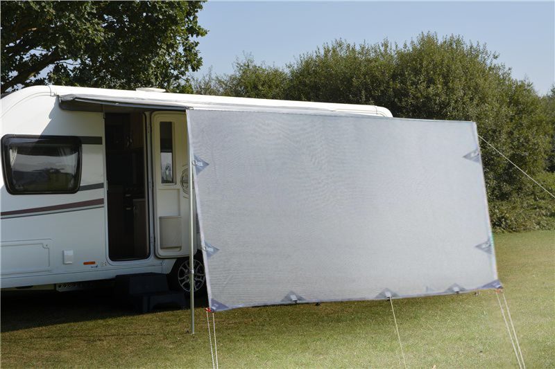 3 4m Caravan Privacy Screen Side Sunscreen Sun Shade For 12 Roll Out Awning In 2020 Roll Out Awning Privacy Screen Caravan Awnings