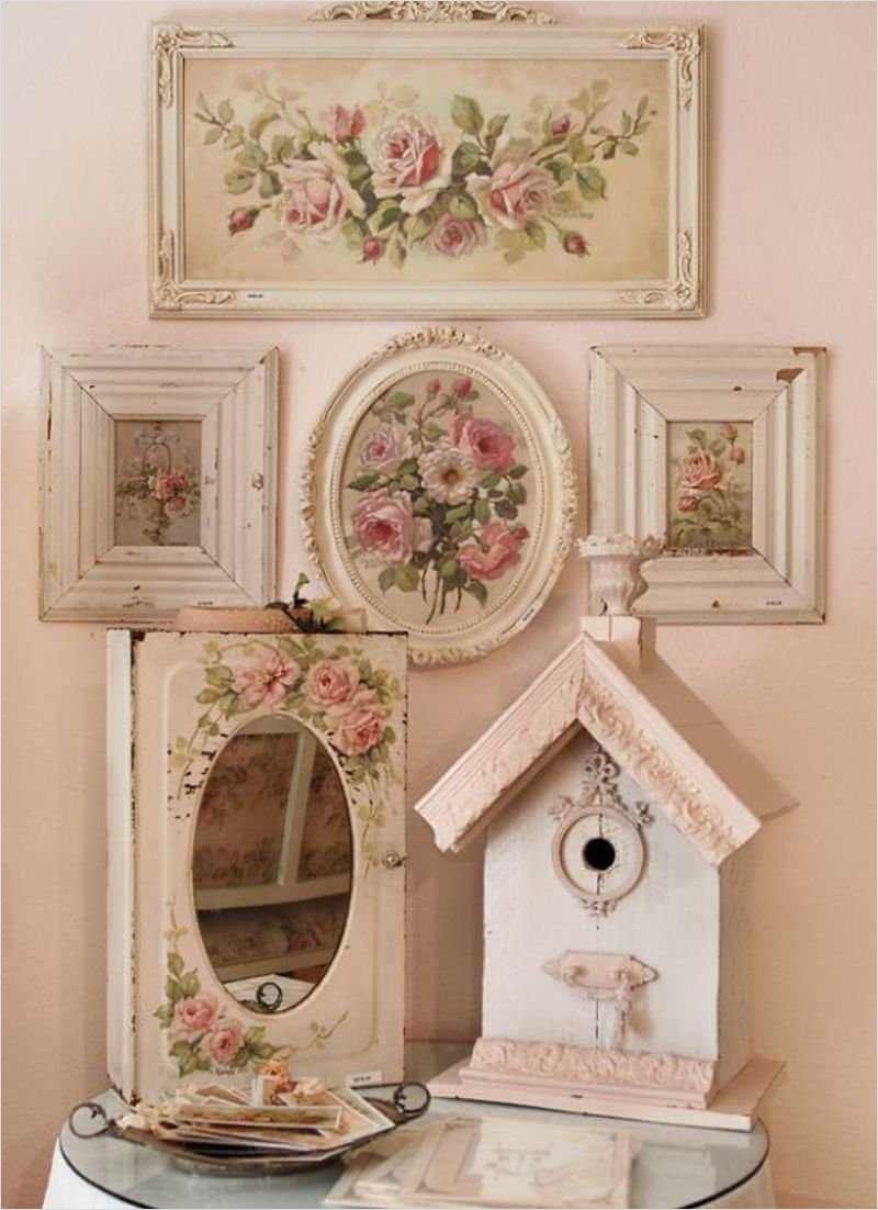 Photo of 41 Awesome Shabby Chic Wall Decorating Ideas