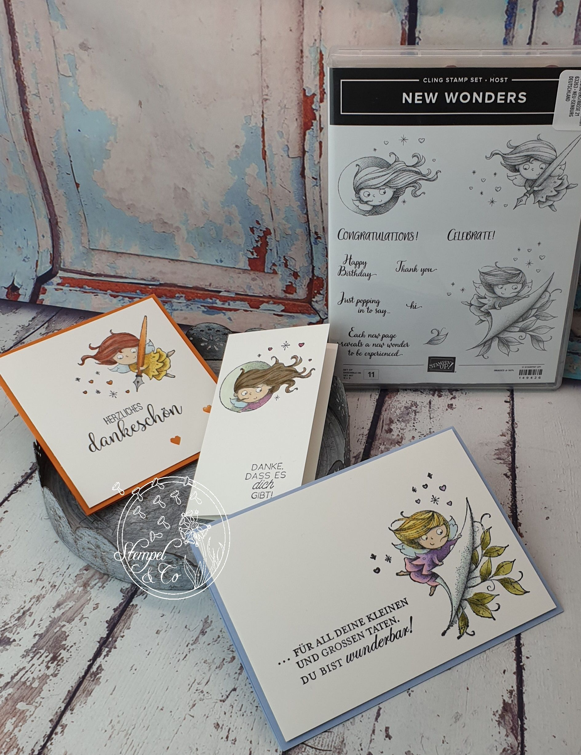Stampin´Up New Wonders  #stampinupcatalog