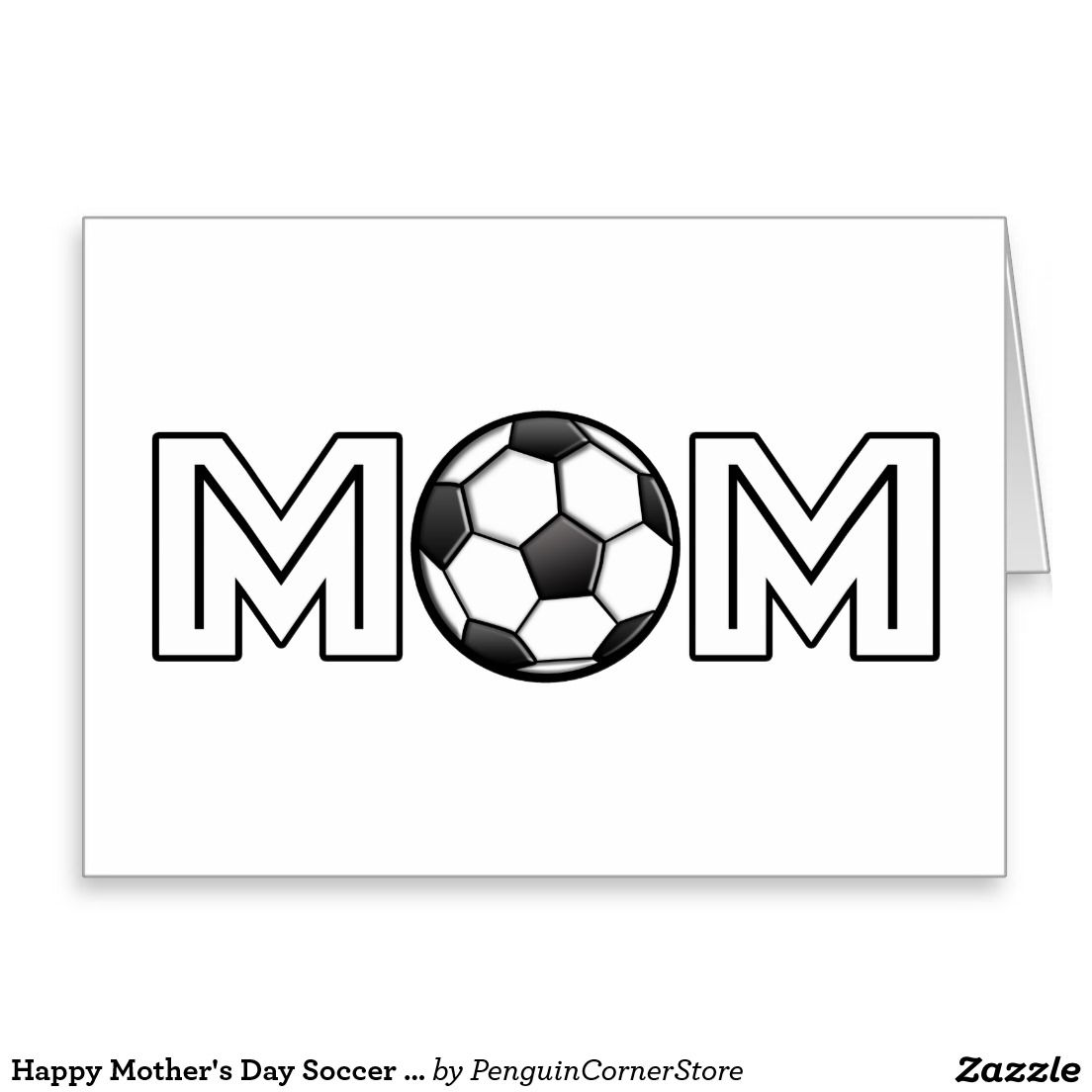 Happy Mother's Day Soccer Mom Card
