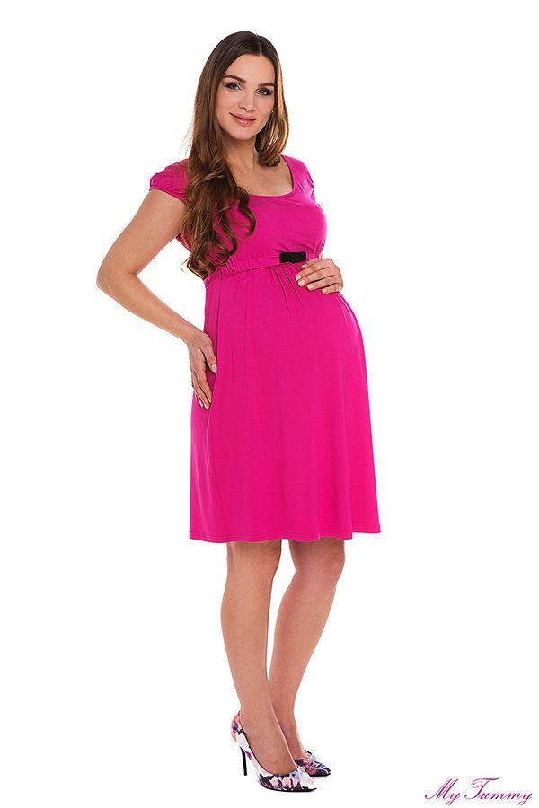 e8312decd0 Sukienka ciążowa Amy amarant