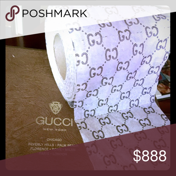 GUCCI Roll Of Toilet Paper This Is A Roll Of Gucci Toilet Paper Gucci Other