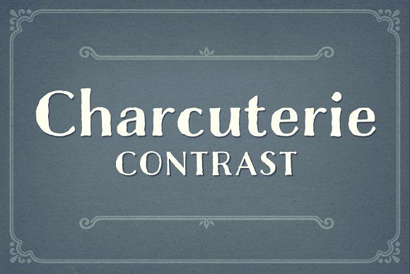 Charcuterie Contrast by Laura Worthington on @creativemarket