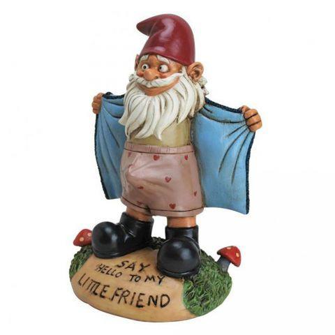 Nain de jardin exhibitionniste   Fairy and gnome ideas   Pinterest ...