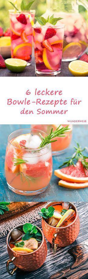 Photo of Sommerbowle: 6 einfache Rezepte, die nach Urlaub schmecken | Wunderweib