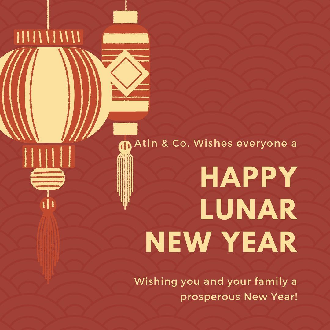 Wishing you and your loved ones good health, prosperity