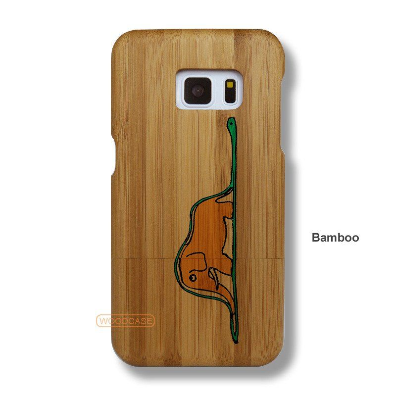 Disney Galaxy S7 Case - Galaxy S7 The Little Price Solid Total Wood Case - SYTRE0031