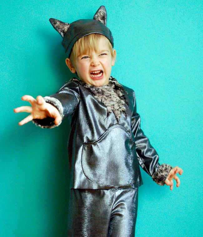Nähanleitung und Schnittmuster Kinderkostüm Wolf | Pinterest ...